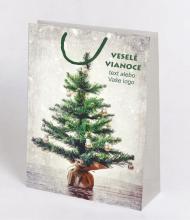 Vánoční taška Kraft Premium 9
