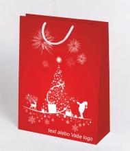 Vánoční taška Kraft Premium 10