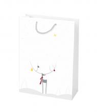 Vianočná taška Kraft Premium Sobík
